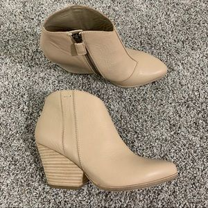 Eileen Fisher Trail Leather Bootie